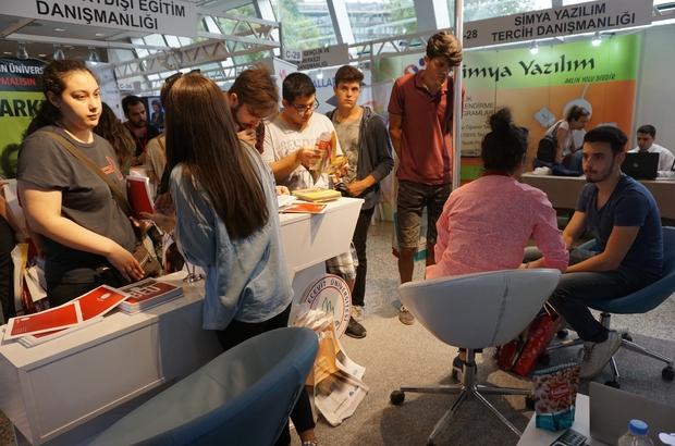 Bülent Ecevit Üniversitesi İstanbul tercih fuarı'na katıldı