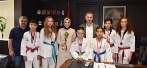 Çan Belediyesi Tekvando Kulübünde başarı sevinci