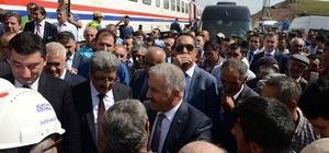 Bakan Arslan BTK sınır tünelinde incelemelerde bulundu