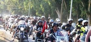 Motorcular Köyceğiz'de buluşuyor