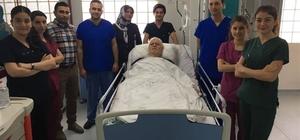Kilis'te ilk kez kapalı AORT Anevrizması ameliyatı yapıldı