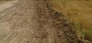 Vezirhan Beldesi'nde Bahçe yolu düzenleme çalışmaları devam ediyor