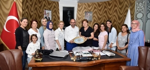 KAR-MEK'ten Başkan Üzülmez'e ziyaret