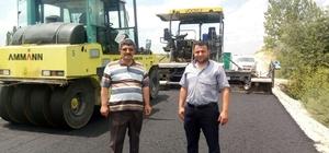 Başkan Murat Arıburnu: Ulaşım medeniyettir, artık köylerimizi de sıcak asfaltla tanıştırıyoruz