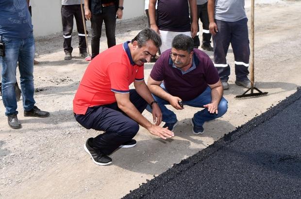 Çukurova'da asfalt çalışmaları sürüyor