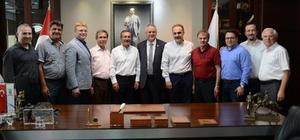 Başkan Ataç, ERİAD yöneticileri ile buluştu