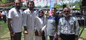 Başkan Üzülmez'e 'Diriliş Ertuğrul' oyuncularından tebrik