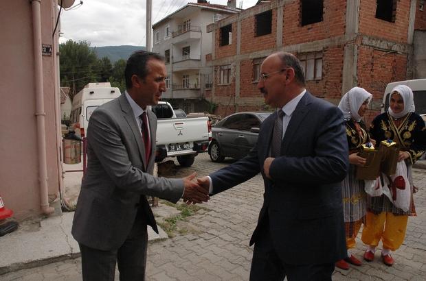 Kastamonu Valisi Yaşar Karadeniz'den Hanönü ziyareti