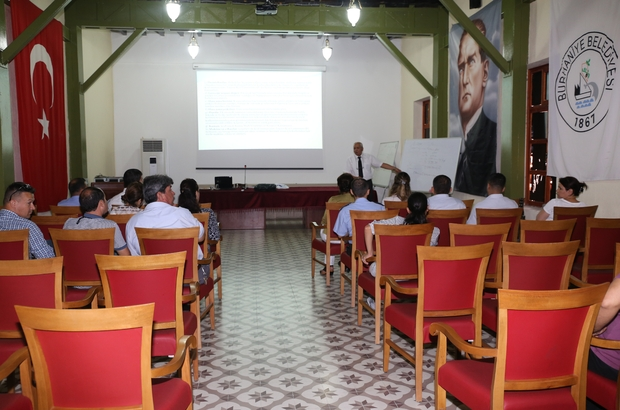 Belediye personeline taşınır mal yönetmeliği ile ilgili eğitim verildi