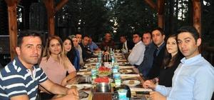 Başkan Akkaya veda yemeği düzenledi