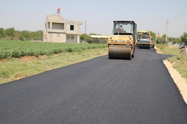 Kırsal mahallelerde sıcak asfalt sevinci