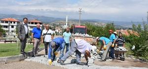 Bigadiç'de Başkan İsmail Avcu, çalışmaları yakından takip ediyor