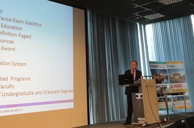 Rektör Elmas yurt dışında konferanslara katıldı