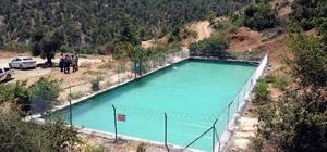 Büyükşehir'in Mut'ta yenilediği sulama havuzu ile 3 bin dönüm arazi sulanacak