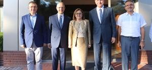 Başkan Şahin'den Gülsan Holding'e Gümkart teşekkürü