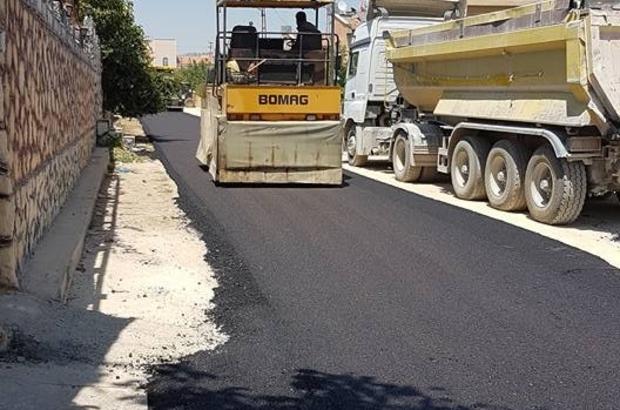 Öncüpınar Mahallesinin asfaltı yapılmaya başladı