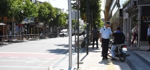 İstanbul Caddesinde sıkı denetim