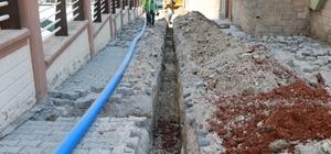 İçme suyu yenileme çalışmaları devam ediyor