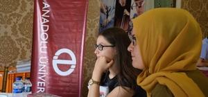 """Eskişehir """"Üniversite Tercih Günleri Fuarı"""" başladı"""