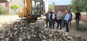 Kars Belediyesi yol çalışmalarına başladı