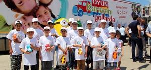 Geleneksel oyun karavanı Ümraniye'den yola çıktı