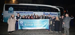 Yıldırım'dan kültür turları