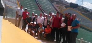 Yakutiye Gençlik Merkezinden Spor Lisesine 25 öğrenci