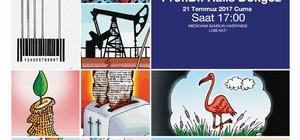Samsun'da karikatür sergisi
