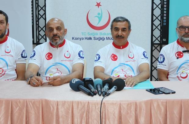 """""""15 Temmuz Şehitlerini Anma Bisiklet Turu"""" Çanakkale'de son buldu"""