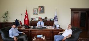 Rektör Prof. Dr. Çoşkun'dan AÜ'ye ziyaret