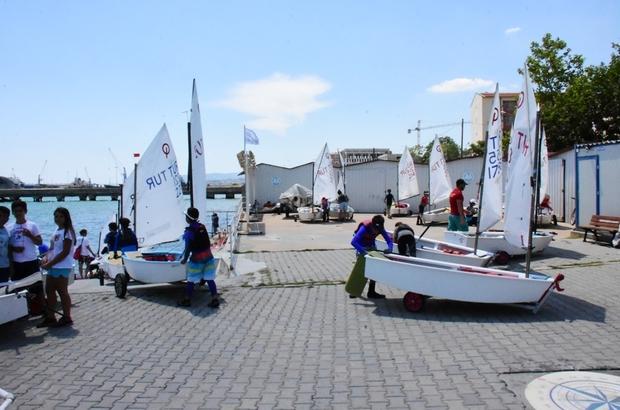 3. Uluslararası Rodosto Kupası Yelken Yarışları öncesi son hazırlıklar