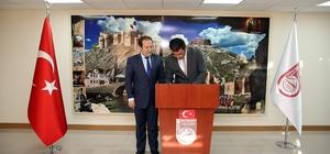 Erzincan Valisi Arslantaş ve Gümüşhane Valisi Memiş'den Bayburt Valisi Pehlivan'a ziyaret