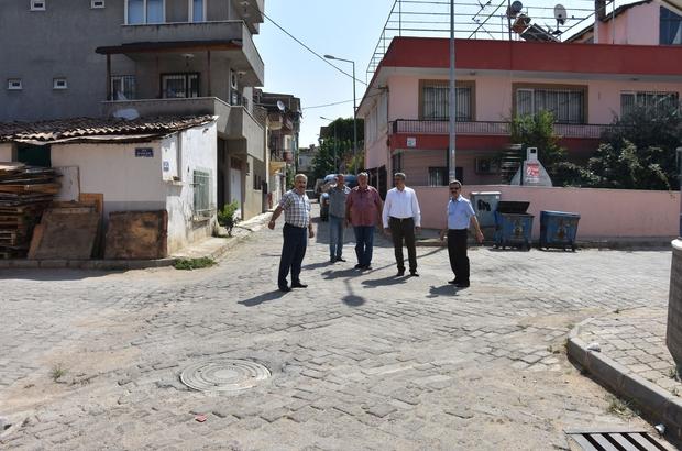 Başkan Alıcık, Yeni Mahalle sokaklarını yerinde inceledi
