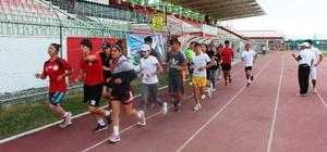Budak'tan Milli takım kampına ziyaret