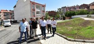 Başkan Gürkan park alanlarında inceleme yaptı