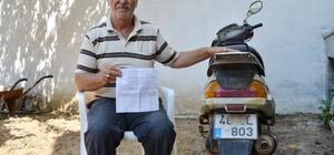 On yıldır kullanmadığı motosiklete 'HGS' cezası