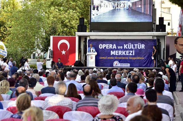 Muratpaşa'da Gösteri Merkezi'nin temeli atıldı