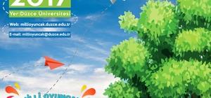 Düzce Üniversitesi Milli oyuncak pazarına ev sahipliği yapacak