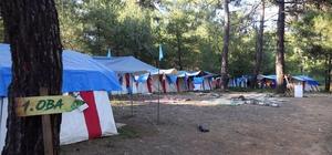 Gençler için Deniz ve Orman Kampı