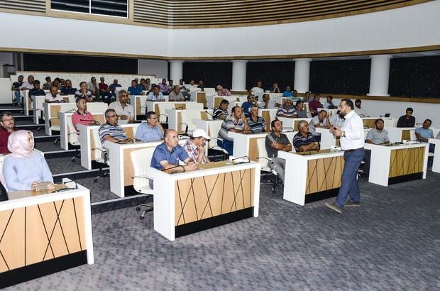 Meram'da iş güvenliği eğitimi