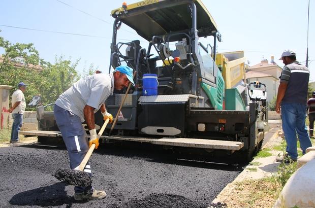 Karaman Belediyesi asfalt çalışmalarını sürdürüyor