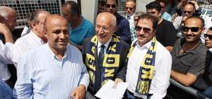 Ankaragücü'ne ilk kombine desteği Başkan Yaşar'dan