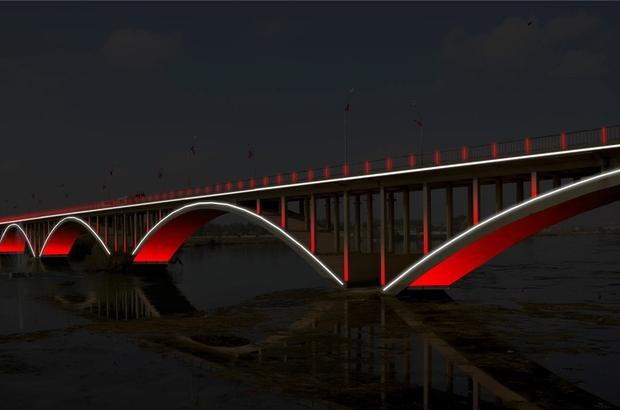 Birecik Köprüsü ışıl ışıl olacak