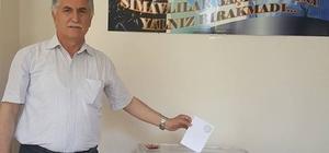 Simav'da Ak Parti delege seçimi
