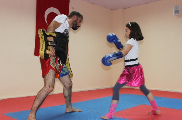 Siverek'te Muay Thai şampiyonları yetişiyor