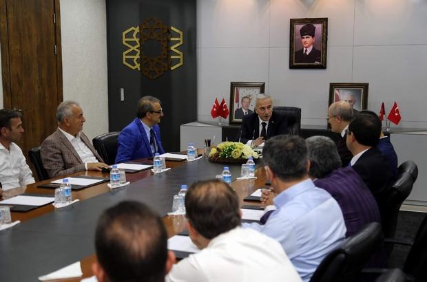 Balıkesir Altıeylül Belediye Başkanı Zekai Kafaoğlu Vali Kamçı'yı ziyaret etti