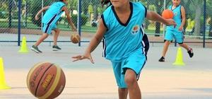 Tatilin keyfi yaz spor okullarında çıkıyor