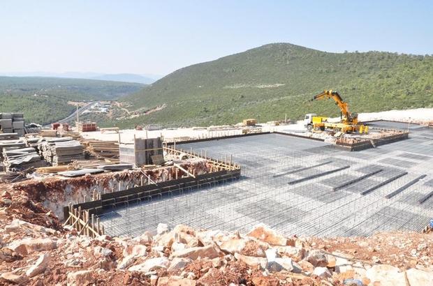 Yeni Milas Devlet Hastanesi inşaatı sürüyor