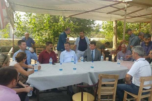 Başkan Pamuk'tan mahalle ziyaretleri