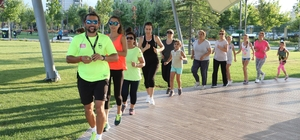 Manisalılar 'Sağlık İçin Spor' yapıyor